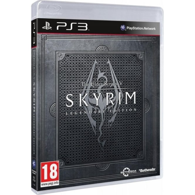 Sony PS3 Skyrim Legendary Edition