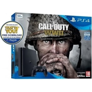 PS4 500GB Call of Duty: WWII Bundle