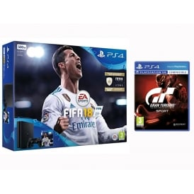 PS4 500GB Fifa 18 + GT Sport Bundle