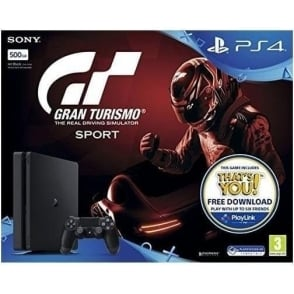 PS4 500GB GT Sport Bundle