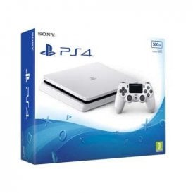 PS4 500GB, White