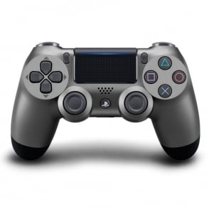 PS4 DualShock Wireless Controller, Steel Black Limited Edition