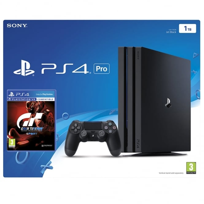sony ps4 pro 1tb gran turismo sport bundle sony from. Black Bedroom Furniture Sets. Home Design Ideas