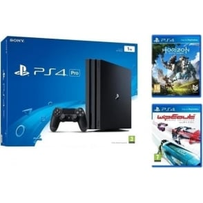 PS4 Pro 1TB with Horizon: Zero Dawn & WipEout: Omega Collection