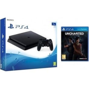 PS4 Slim 1TB Uncharted: The Lost Legacy Bundle