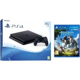 PS4 Slim 500GB with Horizon Zero Dawn