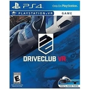 PSVR Driveclub VR Racing game for Playstation VR