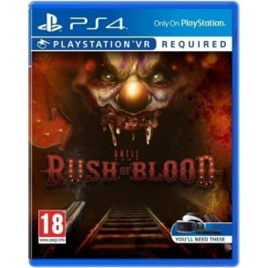 Until Dawn: Rush of Blood PSVR