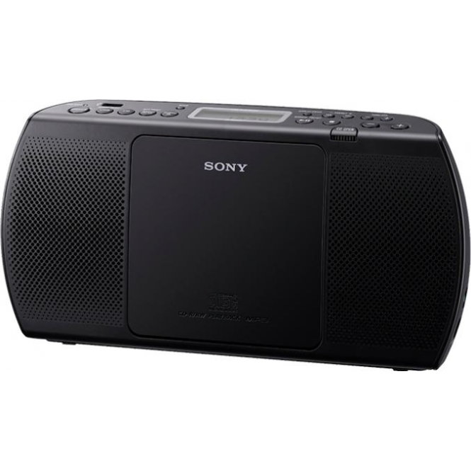 Sony ZSPE40CPB CD - Radio Boombox, Black