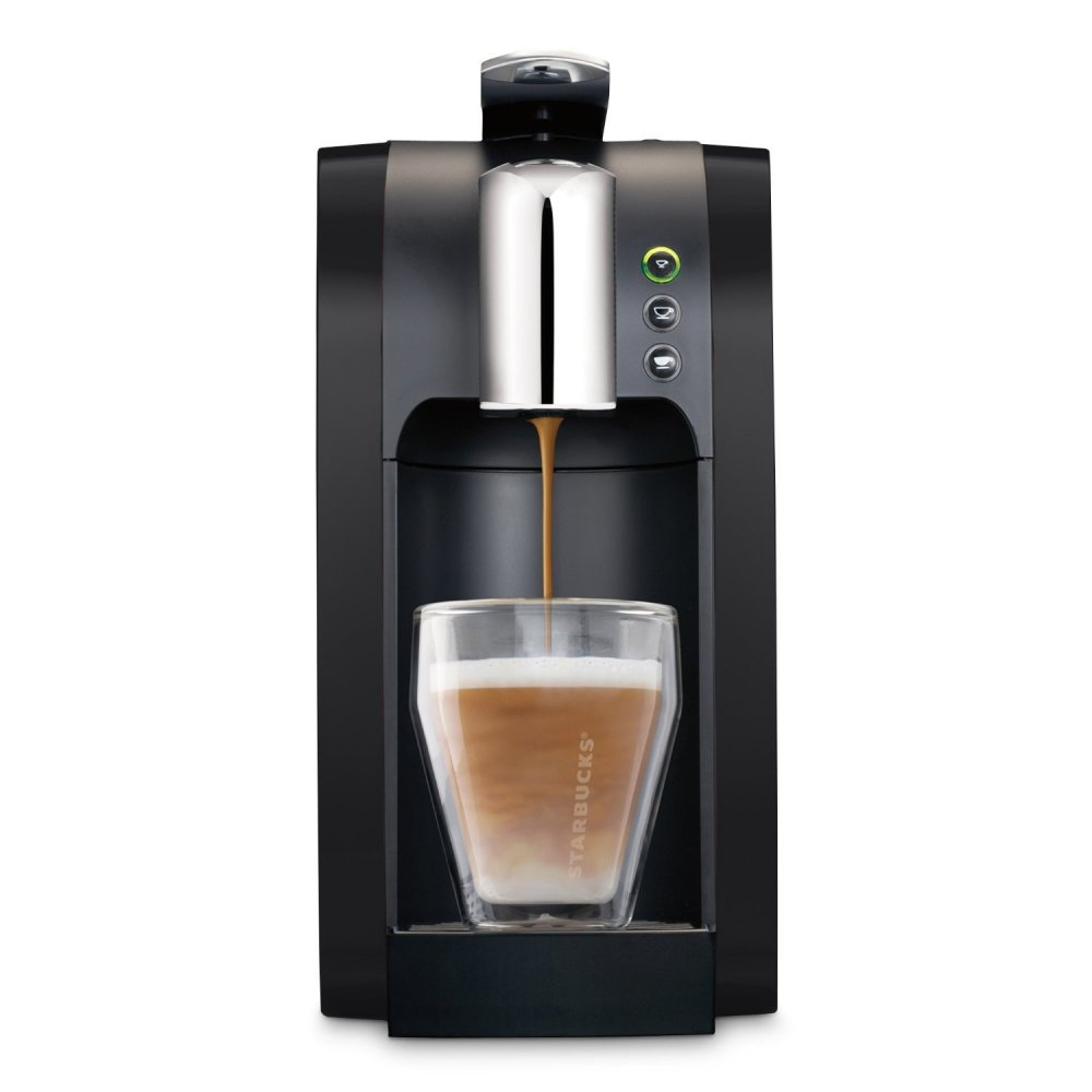 Starbucks Starbucks Verismo 580 Coffee Machine-Black Bundle - Starbucks from Powerhouse.je UK