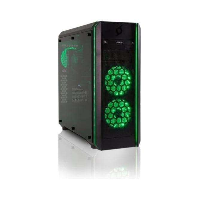 StormForce Ventus PC Gaming Computer AMD Ryzen 7, 16GB RAM, 2TB HDD, 256GB SSD, Radeon RX 570, Win 10