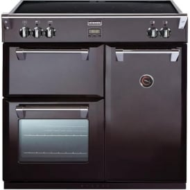 Richmond 900Ei Black 90cm Electric Induction Range Cooker, Black