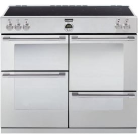 Sterling 1100Ei 110cm Electric Induction Range Cooker, Stainless Steel