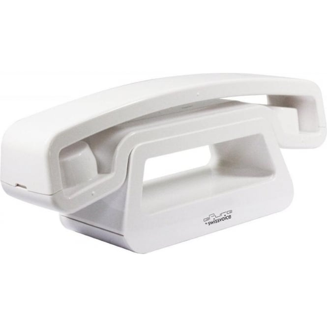 Swissvoice 20405748 Epure Full Eco Cordless Single DECT Telephone White