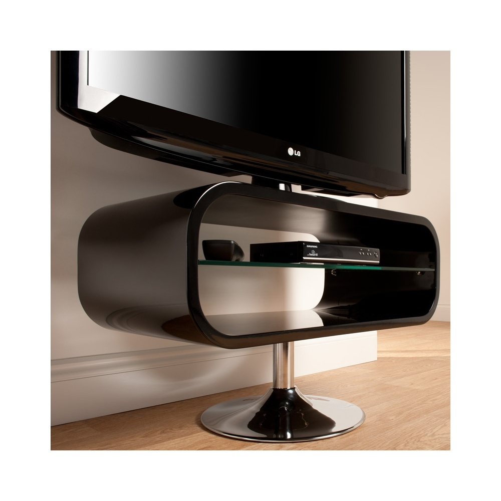 Led Tv Stand Images : Techlink OP80B Opod Piano Black LED & LCD TV Stand - Techlink from ...