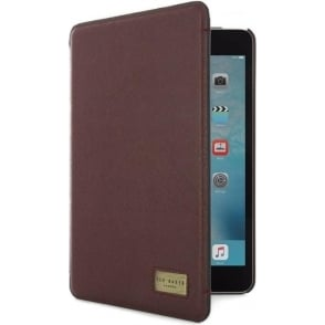 Folio Case for Apple iPad Mini 4 with Stand, Premium High Quality Leather, Brazil Oxblood