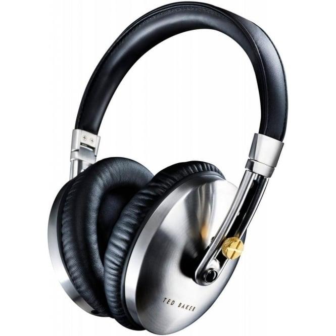 Ted Baker Rockall High-Performance Folding Over-Ear Headphones, Black/Silver