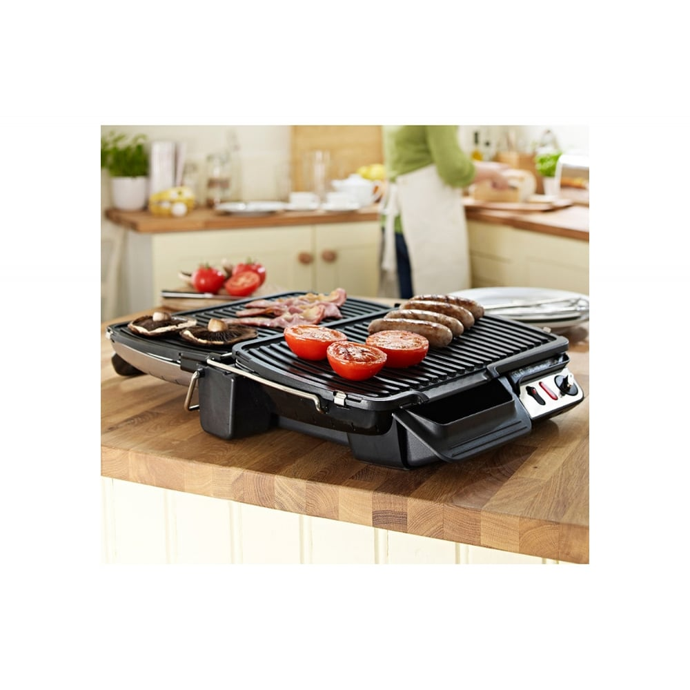 Tefal gc306028 compact health grill tefal from uk - Barbecue tefal easy grill ...