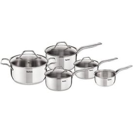 Intuition Stainless Steel 5pc Induction Pan Set