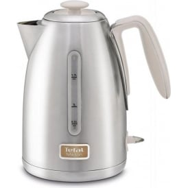 Maison Kettle, Stainless Steel/Oatmeal Grey
