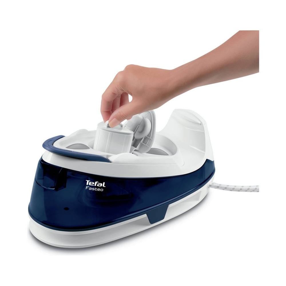 Tefal Pro Express Care High Pressure Gv9060g0 Steam Generator Iron Blue White