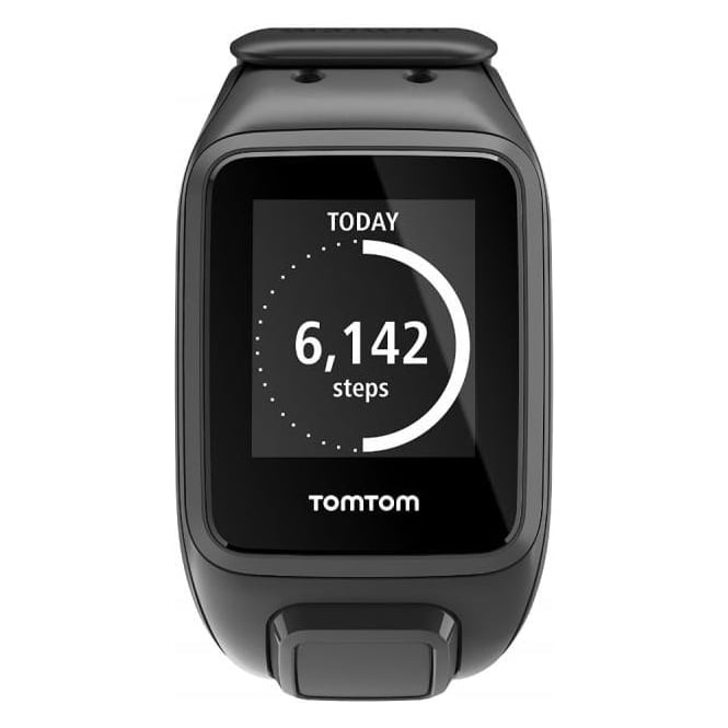 TomTom 1RE000201 Spark GPS Multi-Sport Fitness Watch - Large Strap, Black