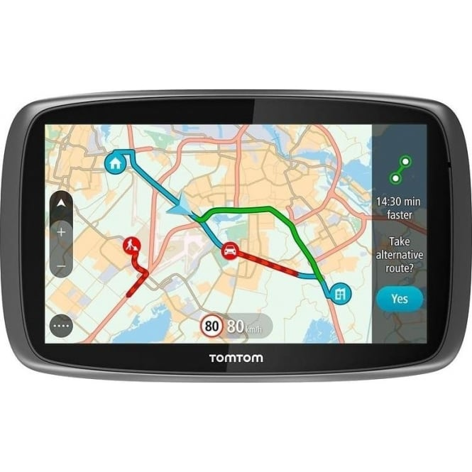 TomTom GO 610 Sat Nav Worldwide Lifetime Maps and Traffic
