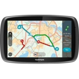 GO 610 Sat Nav Worldwide Lifetime Maps and Traffic
