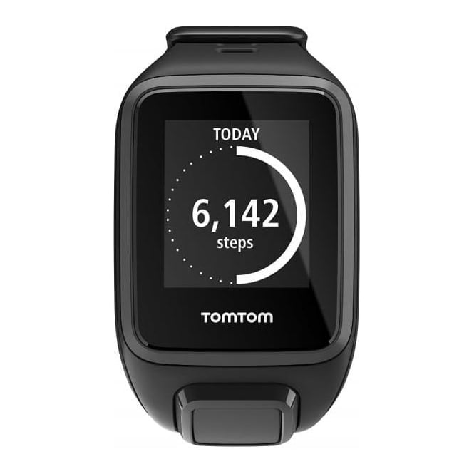 TomTom Spark GPS Multi-Sport Fitness Watch with Music and Heart Rate Monitor, Black