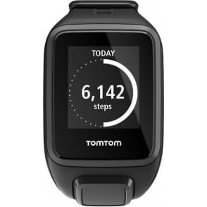 Spark GPS Multi-Sport Fitness Watch with Music and Heart Rate Monitor, Black