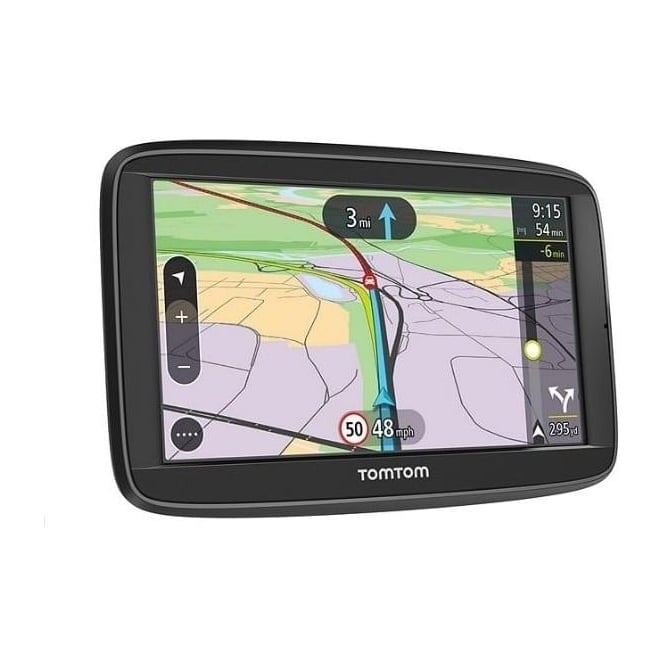TomTom Via 62 Sat Nav with Lifetime UK and Western Europe Maps and Unlimited Traffic