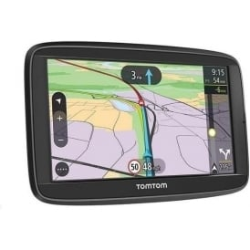 Via 62 Sat Nav with Lifetime UK and Western Europe Maps and Unlimited Traffic