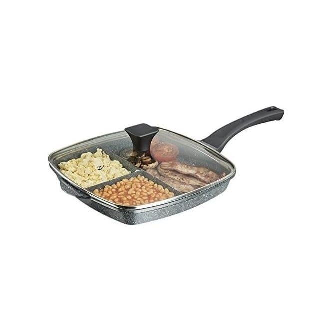 Tower 28cm 3-in-1 Cerastone Grill Pan