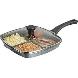 28cm 3-in-1 Cerastone Grill Pan