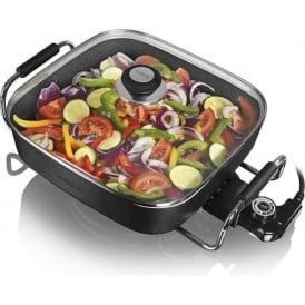 30cm Ceramic Coated Electric Saute/Frying Pan