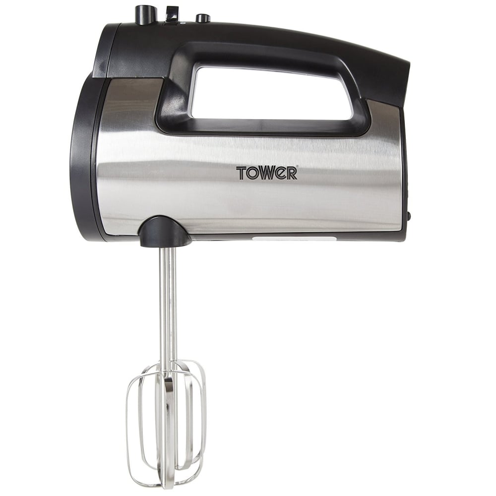 Small Hand Mixer ~ Tower t w hand mixer stainless steel from