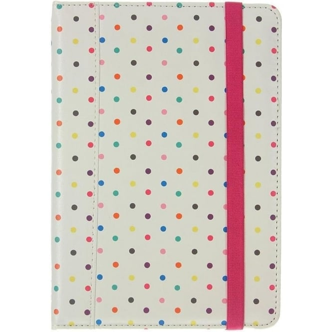 Trendz Folio Case for iPad Mini, Multi Polka Dot
