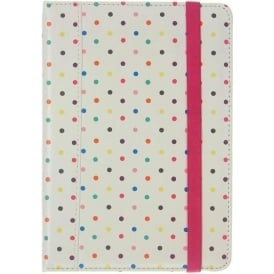 Folio Case for iPad Mini, Multi Polka Dot