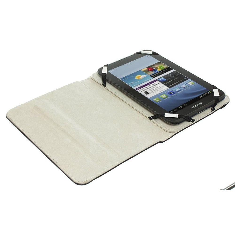 Case Cover with Built-In Stand and Closing Strap for 7 inch Tablet
