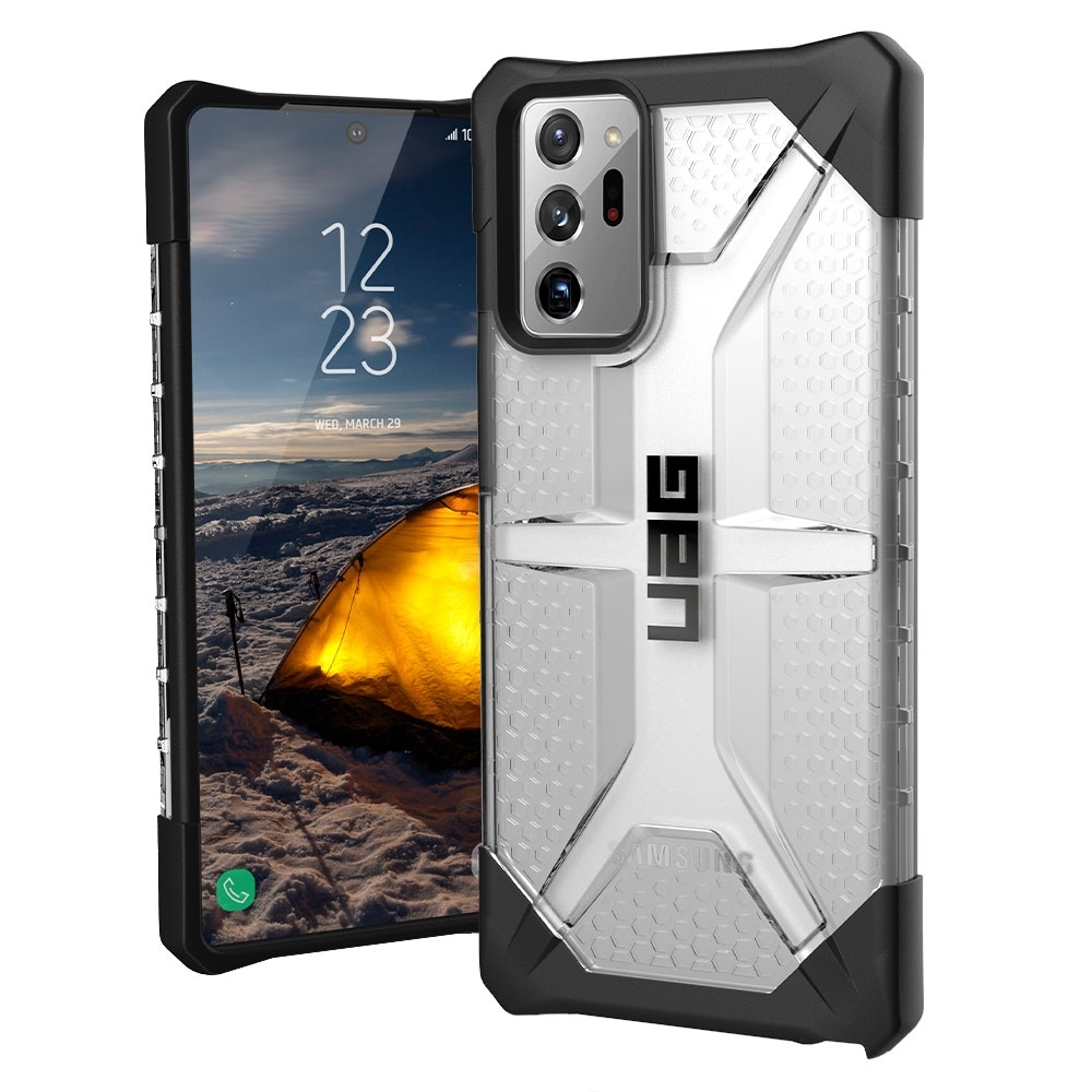 UAG Armor Gear Plasma Case for Samsung Galaxy Note 20 Ultra, Ice - Smart Tech & Phones from