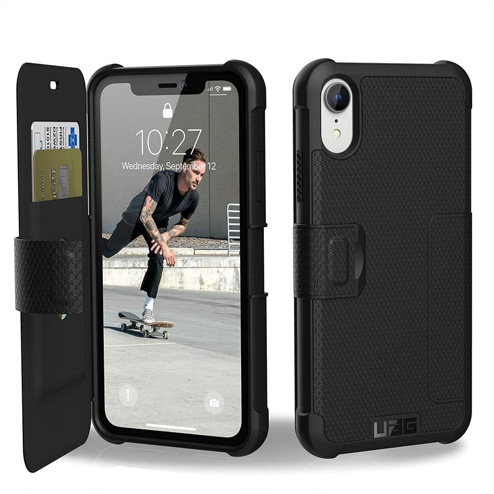 uag case cover for iphone xr metropolis, black computing \u0026 phonescase cover for iphone xr metropolis, black