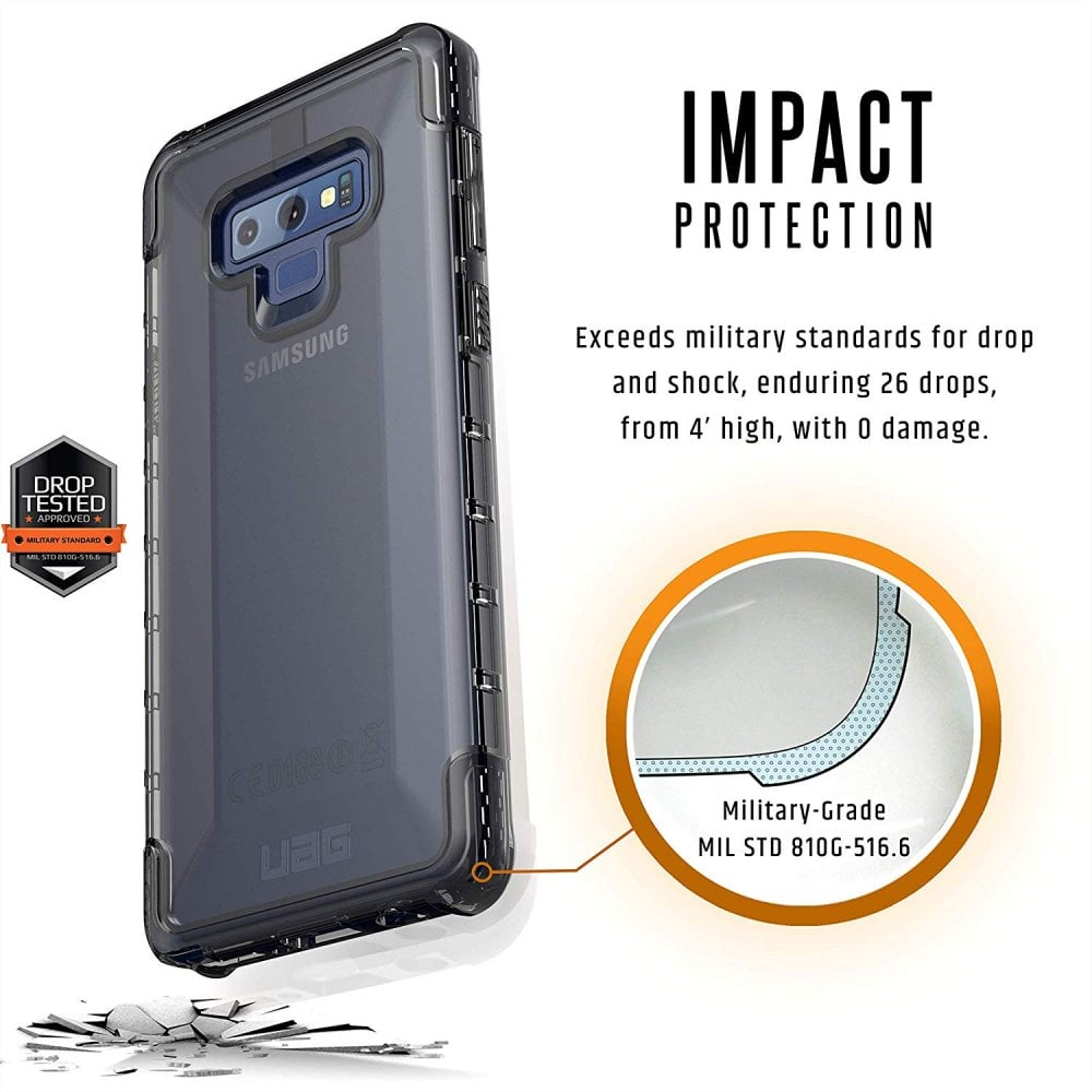 quality design 96e4c caa64 UAG Case Cover for Samsung Galaxy Note 9 Plyo, Feather-Light Rugged