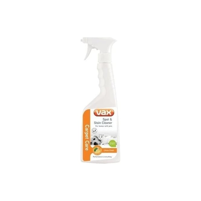 Vax Pet Spot & Stain Cleaning Spray, 500ml