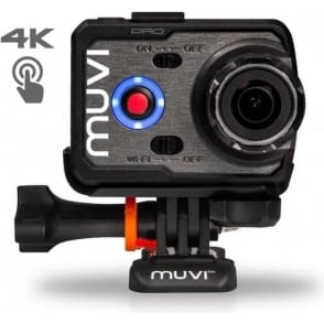 Muvi K-Series K-2 Pro 4k Wi-Fi Handsfree Camera with 12MP Camera