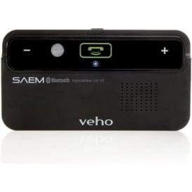 VBC-001-BLK Handsfree Bluetooth Visor Car Speakerphone for Smartphone