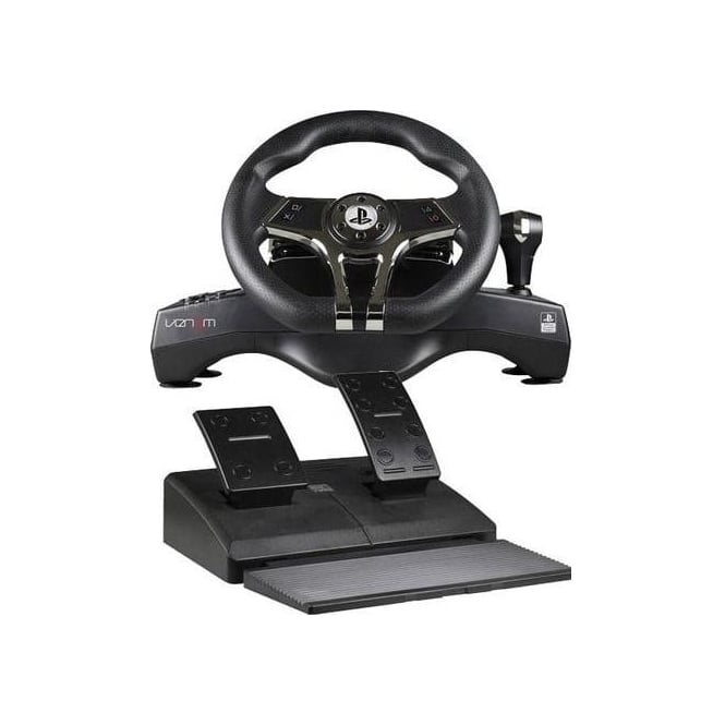 Venom PS4 Racing Steering Wheel with Pedals