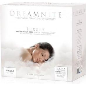Dreamnite Multi-Zone Fleecy Electric Heated Underblanket, Single