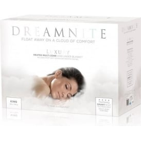 Dreamnite Multi-zone Fleecy Fitted Electric Underblanket, King Size