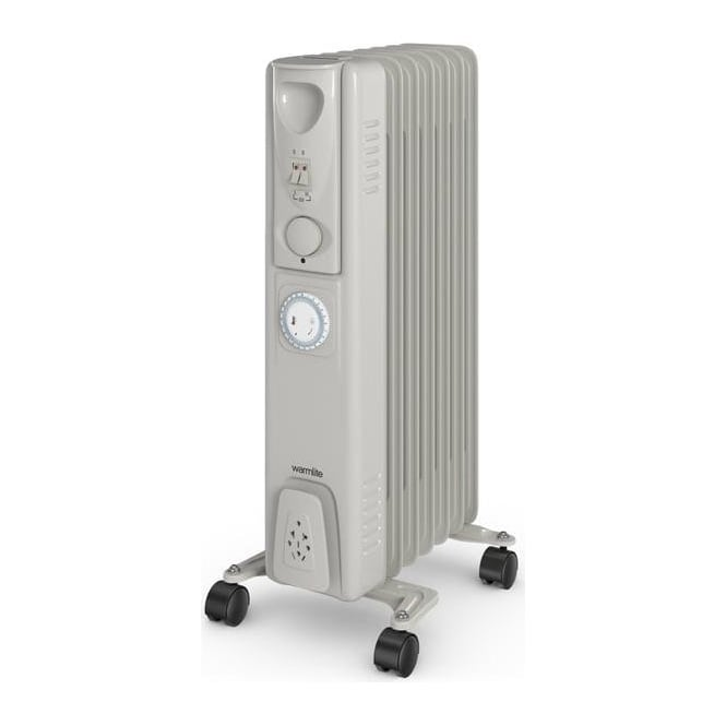 Warmlite WL43003YT 1500W Oil Filled Radiator with Timer