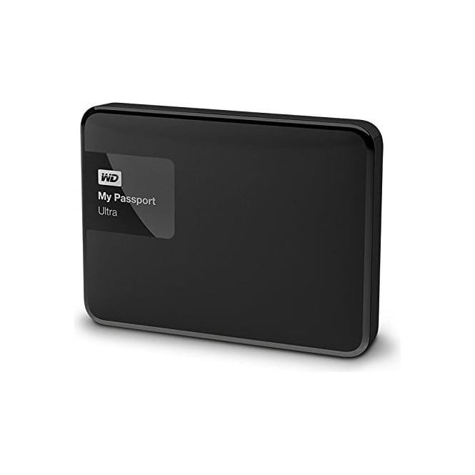 Western Digital My Passport Ultra 1 TB Portable USB 3.0 External Hard Drive for Mac